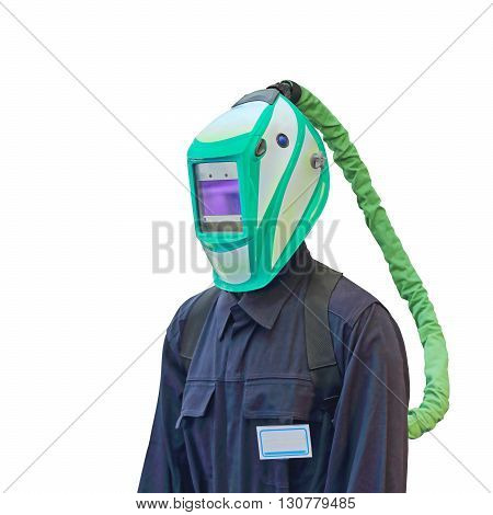 Auto Darkening Welding Helmet With Air Supply