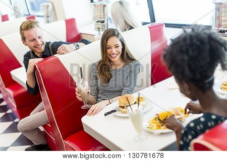 Friends In The Diner