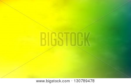 Background paint stains multicolored smoke. Watercolor smoky. Watercolor background. Yelloe-green color.