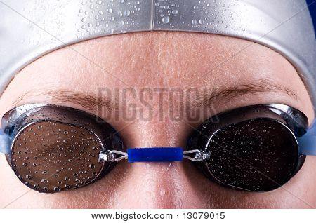 swimmer eyes