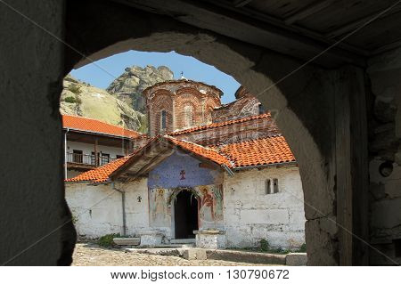 Ancient monastery Treskavec in Pelagonia region off town of Prilep Macedonia