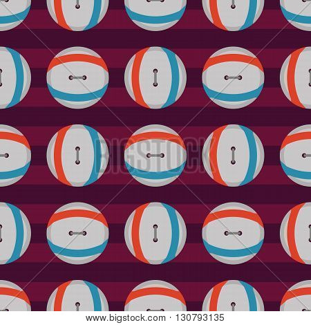 Background vector illustration seamless pattern of colored buttons.