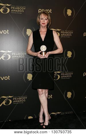 NEW YORK-MAY 21: Melissa Rosenberg attends the 75th Annual Peabody Awards Ceremony at Cipriani Wall Street on May 21, 2016 in New York City.