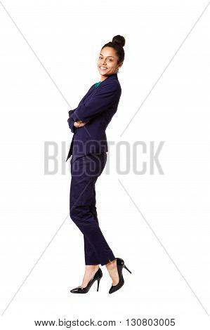 Confident Young Female Business Executive