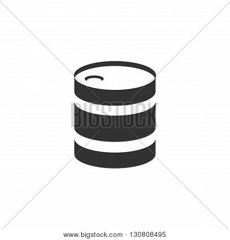 Barrel Icon. Barrel logo. Vector design element. Abstract emblem, graphic design concept. Logotype element for template. Vector illustration on white background - stock vector
