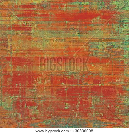 Grunge background for a creative vintage style poster. With different color patterns: yellow (beige); brown; green; red (orange); pink