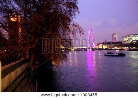 Thames River At Night 3