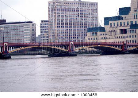 Vauxhall Bridge On The Thames