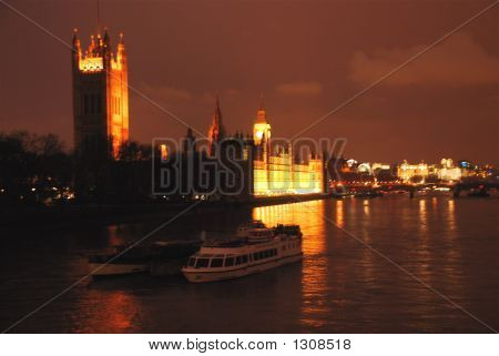 Westminister At Night