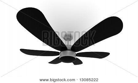 Black 3D Fan