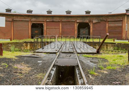 Railroad Maintenance Roundhouse