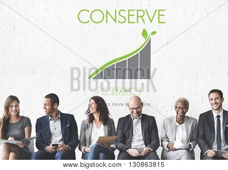 Conserve Ecology Environmental Preservation Concept