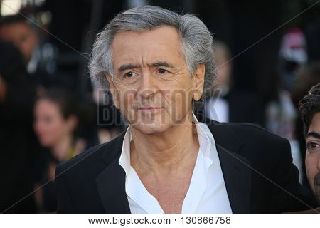 Bernard-Henri Levy attends 'The Last Face' Premiere during the 69th annual Cannes Film Festival at the Palais des Festivals on May 20, 2016 in Cannes, France.