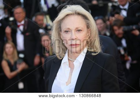 Faye Dunaway attends 'The Last Face' Premiere during the 69th annual Cannes Film Festival at the Palais des Festivals on May 20, 2016 in Cannes, France.