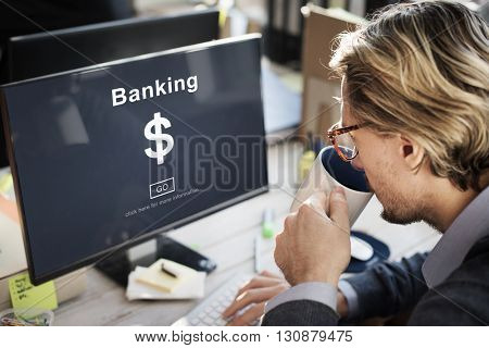 Banking Financial Business Concept