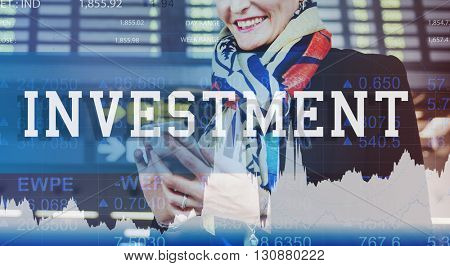 Investment Economy Finance Business Trade Concept