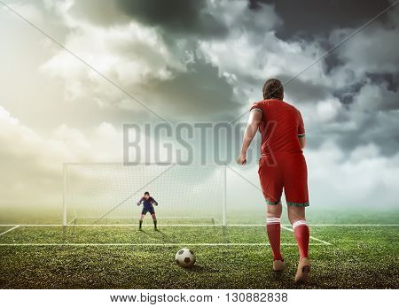 Penalty Kick Concept