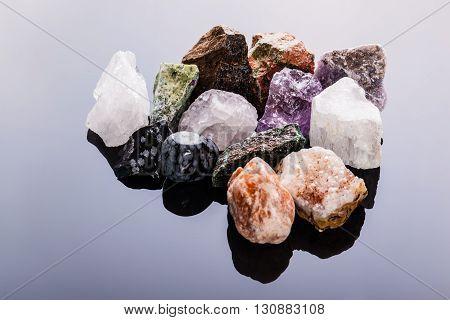 Semi-precious Gems Heap