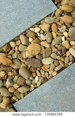 Combinations of Paving and Rocks modern landscape design