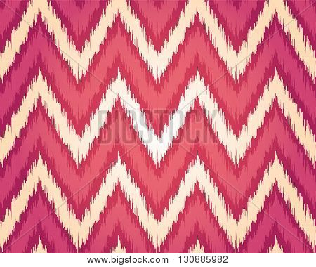 Seamless textile pattern in tribal style embroidered plaid. Vector background for your creativity