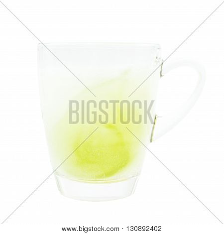 Limonade Tonic  Refreshment On Glass