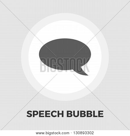Chat icon vector. Flat icon isolated on the white background. Editable EPS file. Vector illustration.