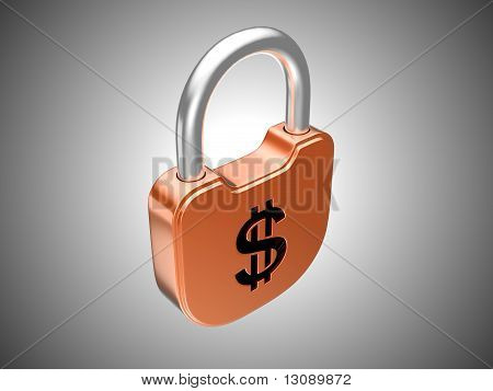 Locked Lock: Us Dollar Security