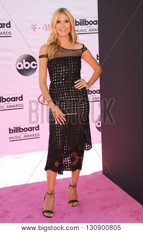 Heidi Klum at the 2016 Billboard Music Awards held at T-Mobile Arena in Las Vegas, USA on May 22, 2016.