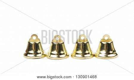 xmas, year, bells on a white background