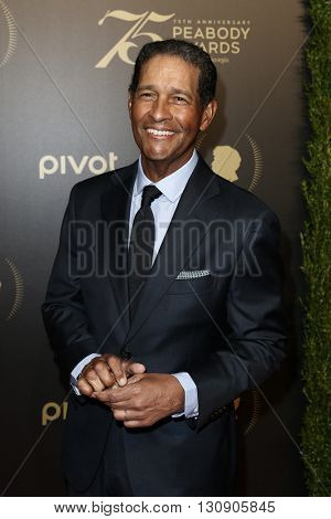 NEW YORK-MAY 21: Bryant Gumbel attends the 75th Annual Peabody Awards Ceremony at Cipriani Wall Street on May 21, 2016 in New York City.