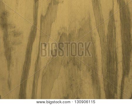 Orange Plywood Background Sepia