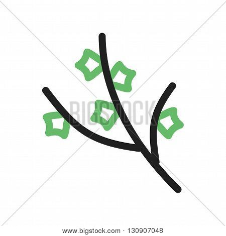 Tree, branch, wood icon vector image. Can also be used for seasons. Suitable for mobile apps, web apps and print media.