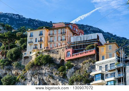 Luxurious appartments in the Alps on the Mediterranean seaside of Monaco