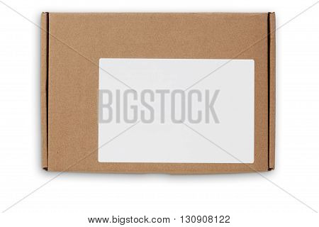 Postal Box With Clipping Path