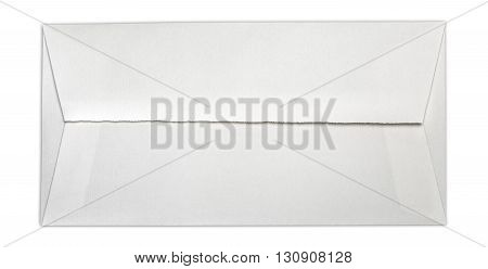 Long Old Envelope With Clipping Path