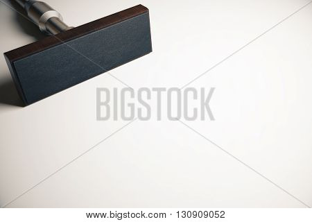 Empty Rectangular Stamper