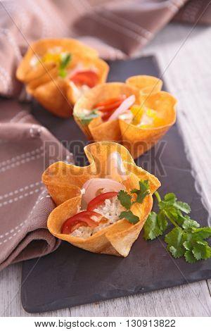 finger food, creative canape
