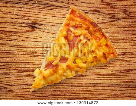 Slice Of Home Pizza With Cheese