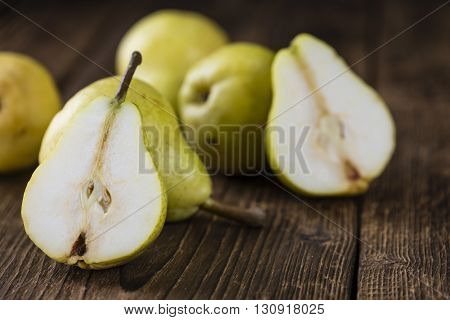 Some Fresh Pears
