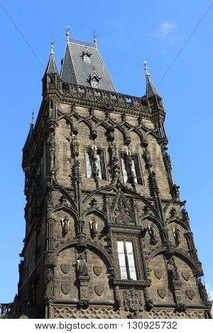 The Powder Tower of the city of Prague