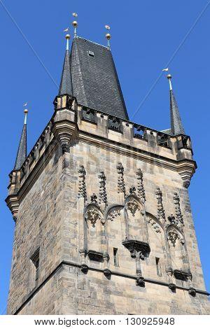 Tower of the Charles Birdge in Prague