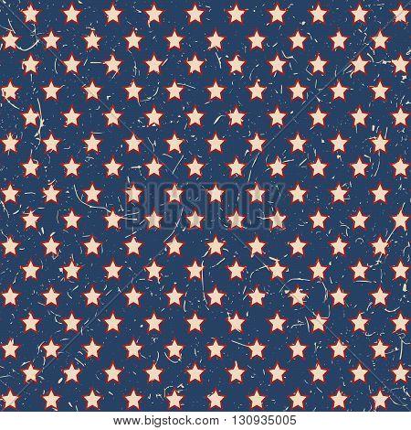 American Stars Pattern