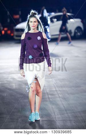 Cro A Porter Fashion Show : Marina Jerant, Zagreb, Croatia
