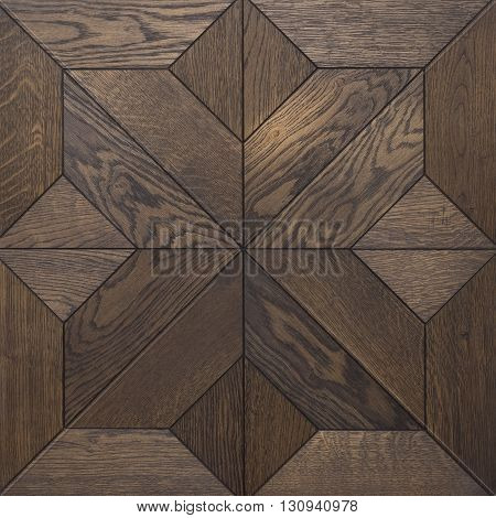 The texture of light wood, parquet. Figure diamond. Beautiful wood pattern tiles