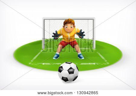 Soccer, vector icon