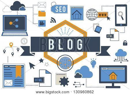 Blog Blogging Online Internet Concept
