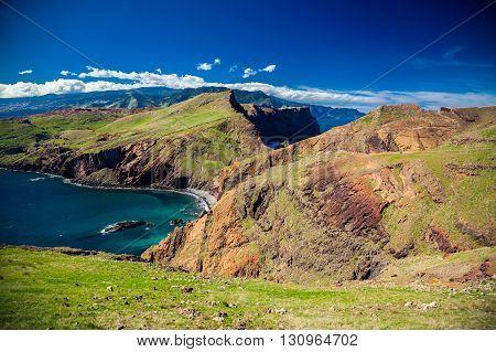 The Coastline At The Ponta De Sao Lourenco