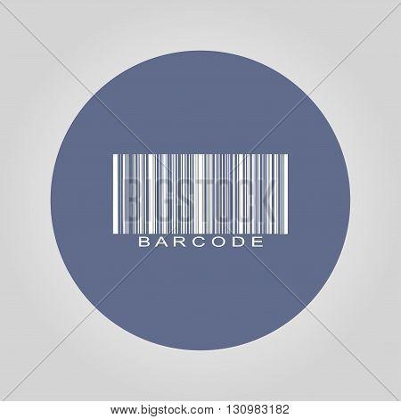 Barcode Icon, Vector Illustration