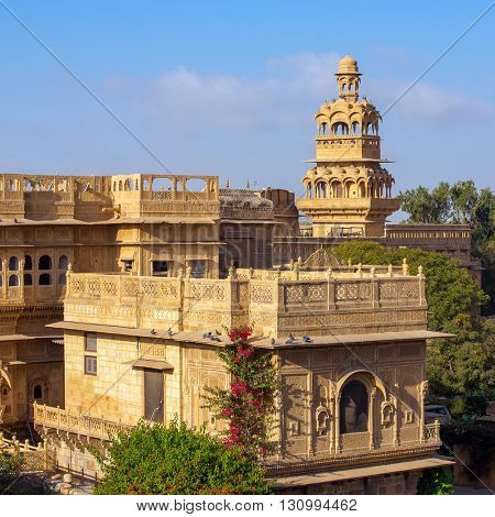 Mandir Palace in Jaisalmer, Rajasthan, India