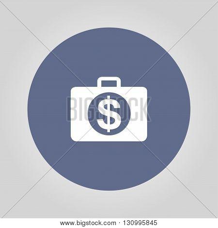 financial icon. Flat design style eps 10